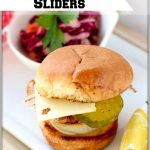 Cuban Chicken Sliders