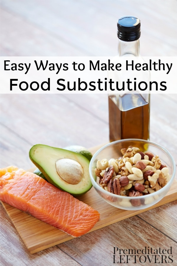 One simple way to eat better is by swapping out certain foods for healthier options. These tips will show you Easy Ways to Make Healthy Food Substitutions.