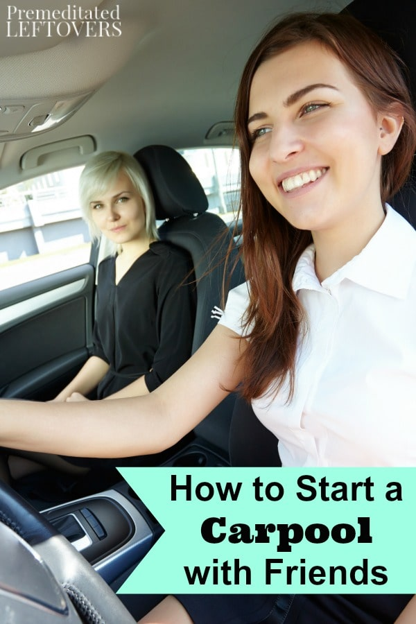 You can save money on gas and transportation costs by carpooling to places like work and school. Learn How to Start a Carpool with Friends with these tips.