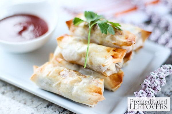 These Southwest Loaded Chicken Spring Rolls are packed with flavorful ingredients. This recipe makes the perfect appetizer with a lot of southwestern flair!
