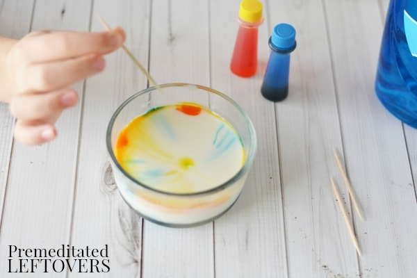 Kids will love watching different substances react with each other in this Surface Tension Science Experiment. It's a fun and easy experiment to do at home!