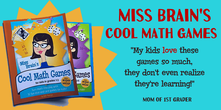 Miss Brain's Cool Math Games for Kids