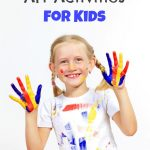 Check out these 5 Rainy Day Art Activities for Kids. They will provide your children with a creative outlet and keep them busy when they're stuck indoors.