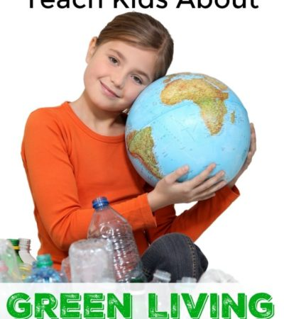 Our kids play a vital role in protecting the earth and it's up to us to show them how. Start with these 5 Simple Ways to Teach Kids About Green Living.