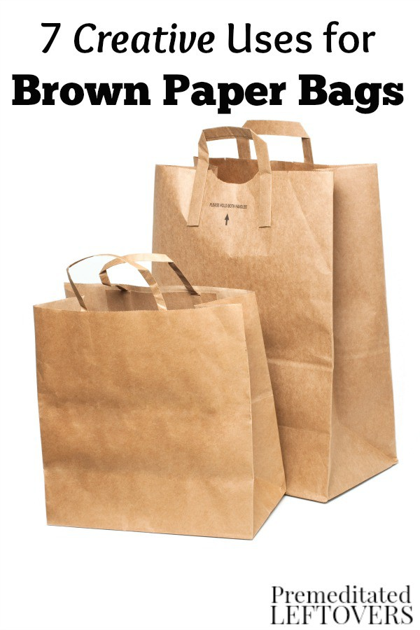 Do you have a stack of paper grocery bags building up at home? Put them to use or find others who can with these 7 Creative Uses for Brown Paper Bags.