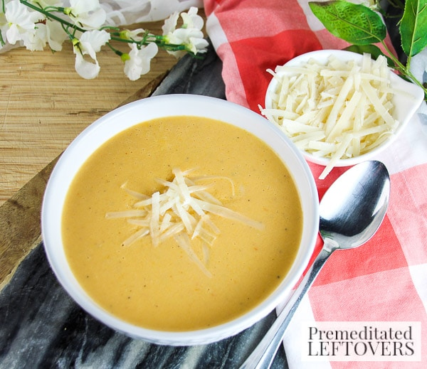 On chilly nights there's nothing more comforting than a big bowl of soup! Warm up with this quick and easy Instant Pot Creamy Tomato and Yogurt Soup recipe.