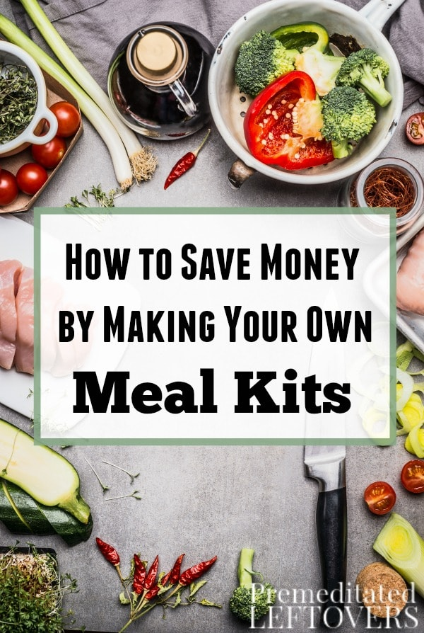 How to save money by making your own meal kits meal subscription boxes sure are convenient but you can easily make them yourself check solutioingenieria Image collections