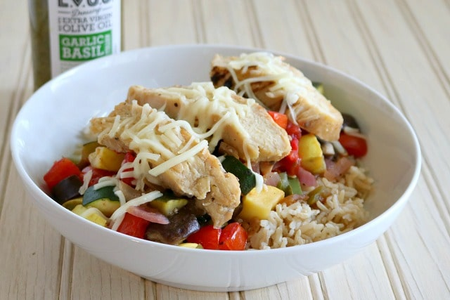 Ratatouille Chicken and Rice Buddha Bowl Recipe
