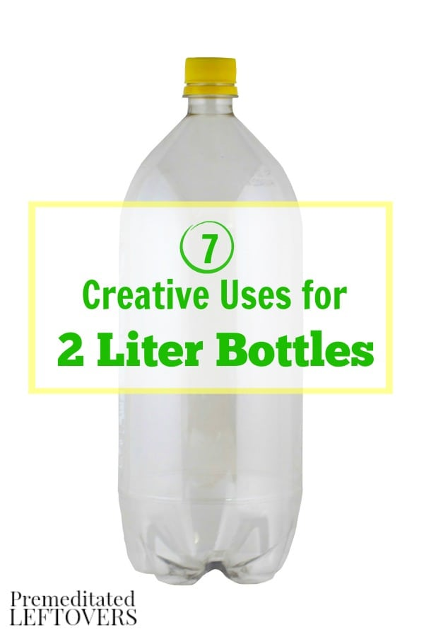 Empty 2 liter soda bottles can really come in handy around your home! Get some great ideas with these 7 Creative Uses for 2 Liter Bottles.