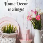 Check out these simple Tips for Updating Home Decor on a Budget. They include frugal and creative ways to give your home the fresh, new look it needs.