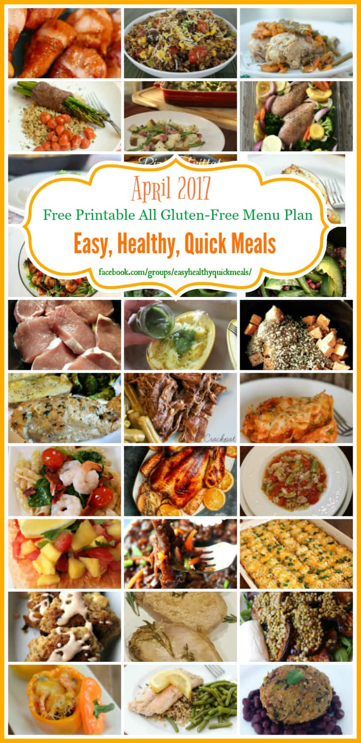 Quick and easy gluten free meal plan on a budget quick and easy gluten free meal plan forumfinder Choice Image