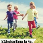 Kids create memories and get exercise when they play outdoors. Here are 5 Schoolyard Games That Don't Require Toys that will get kids of all ages moving!