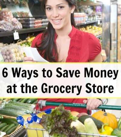 Here are 6 Ways to Save Money at the Grocery Store to keep you from overspending. They include tips and tricks to avoid sales gimmicks and impulse buys.