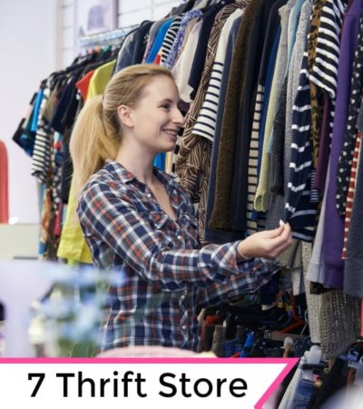 These 7 Thrift Store Wardrobe Staples are a frugal way to stretch your clothing budget. They will also make it much easier to choose an outfit each morning!