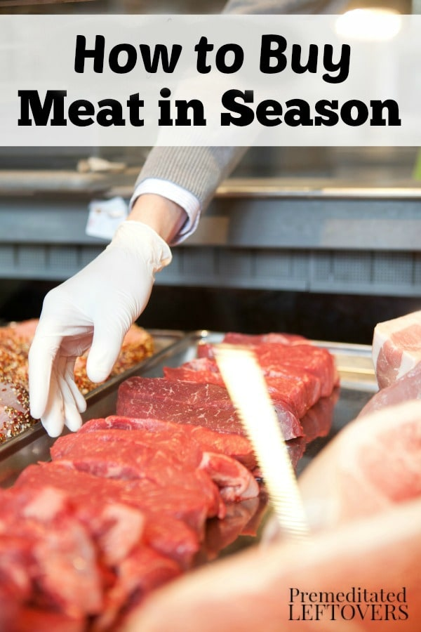 You can save money and get the best deals by purchasing beef, poultry, and seafood when it is in season. Learn How to Buy Meat in Season with these tips.