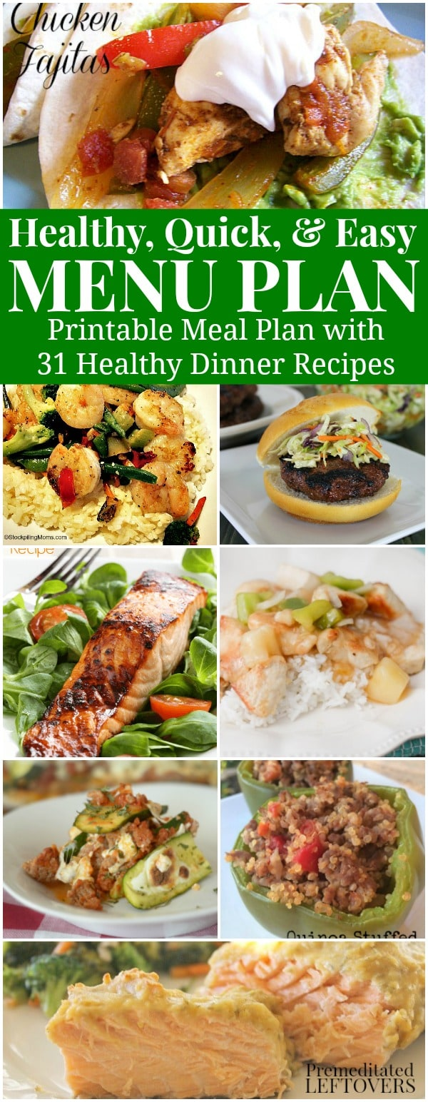 Need Some Healthy Recipe Ideas That Are Simple To Make Check Out This