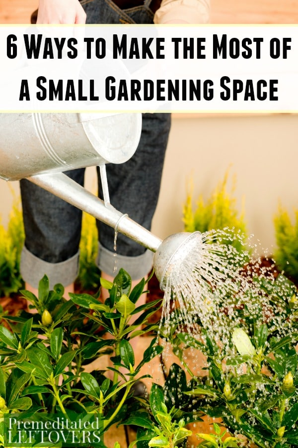 6 Ways To Mak The Most Of A Small Garden Space
