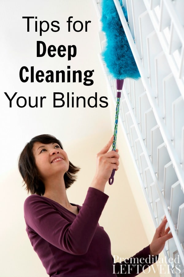 Are your window blinds often neglected when it comes to cleaning your home? Use these helpful Tips for Deep Cleaning Your Blinds.