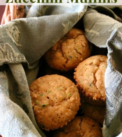 This flavorful Chai Spiced Zucchini Muffins recipe is made with Chai Tea. It includes zucchini and oats creating a high fiber zucchini muffin recipe.