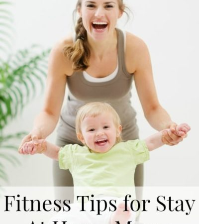 Here are some fitness tips for stay at home moms, including ways to work out with kids and how to find fitness resources for moms in your area