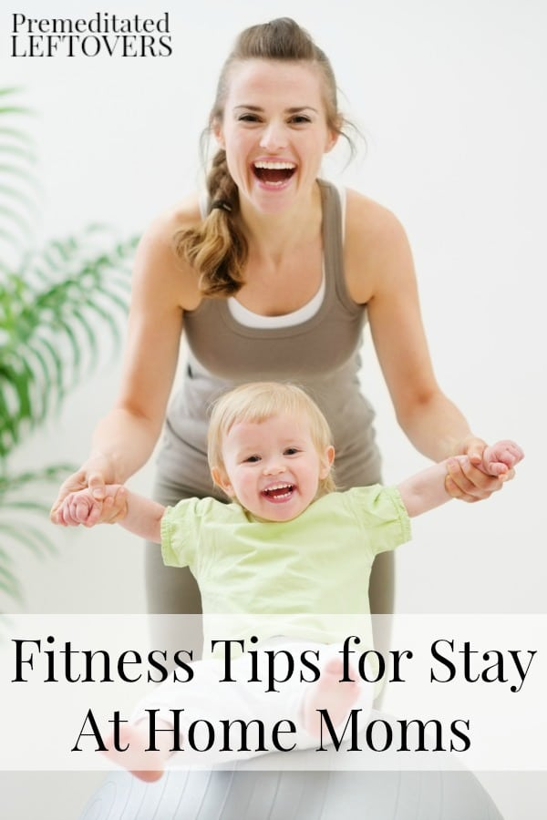 Here are some fitness tips for stay at home mom, including ways to work out with kids and how to find fitness resources for moms in your area