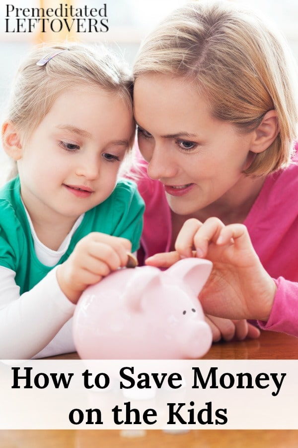 It's no secret that raising children can be expensive. You can still give them a comfortable life with these tips on How to Save Money on the Kids.