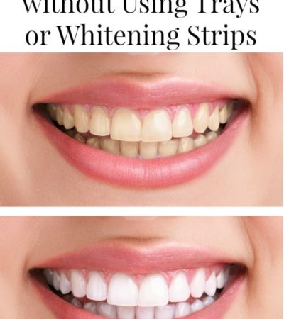 How to Whiten teeth without using trays or whitening strips