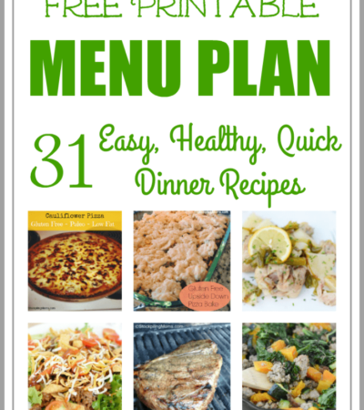 Easy and Healthy Dinner Meal Plan for July