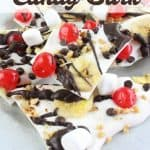 Banana Split Candy Bark Recipe