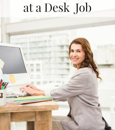 It is tough to stay active when you work at a desk, but these tips on how to stay active at a desk job make it easier to work fitness into your workday.