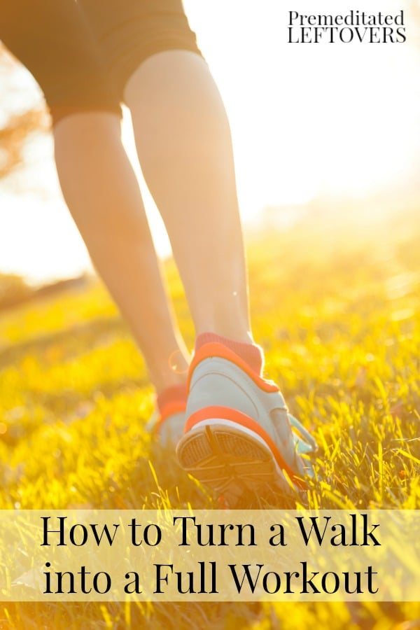 If you are looking to add some more challenge to your daily walk, check out these tips for how to turn a walk into a full workout.