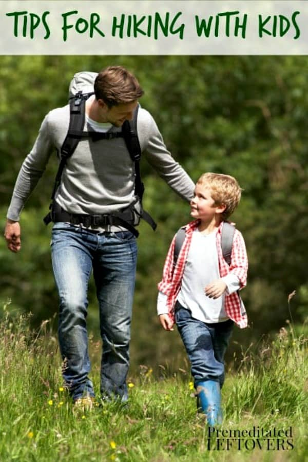 Tips for hiking with kids so you both enjoy the hike