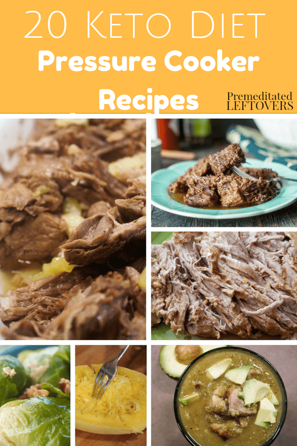 These Keto Pressure Cooker Recipes are a great addition to your healthy keto recipe meal plan! Check out our favorites and enjoy entrees and desserts!