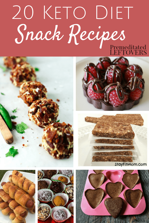 This list of 20 Keto Diet Snack Recipes is a great way to beat your cravings. These Keto Diet Snacks include our favorite fat bombs, chips, desserts, and more! You are sure to find a treat to tide you over while staying compliant with your diet!