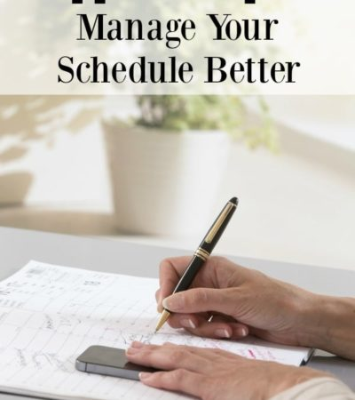 These 6 apps to help you manage your schedule better will help with everything from scheduling chores to keep track of your whole family's activities.