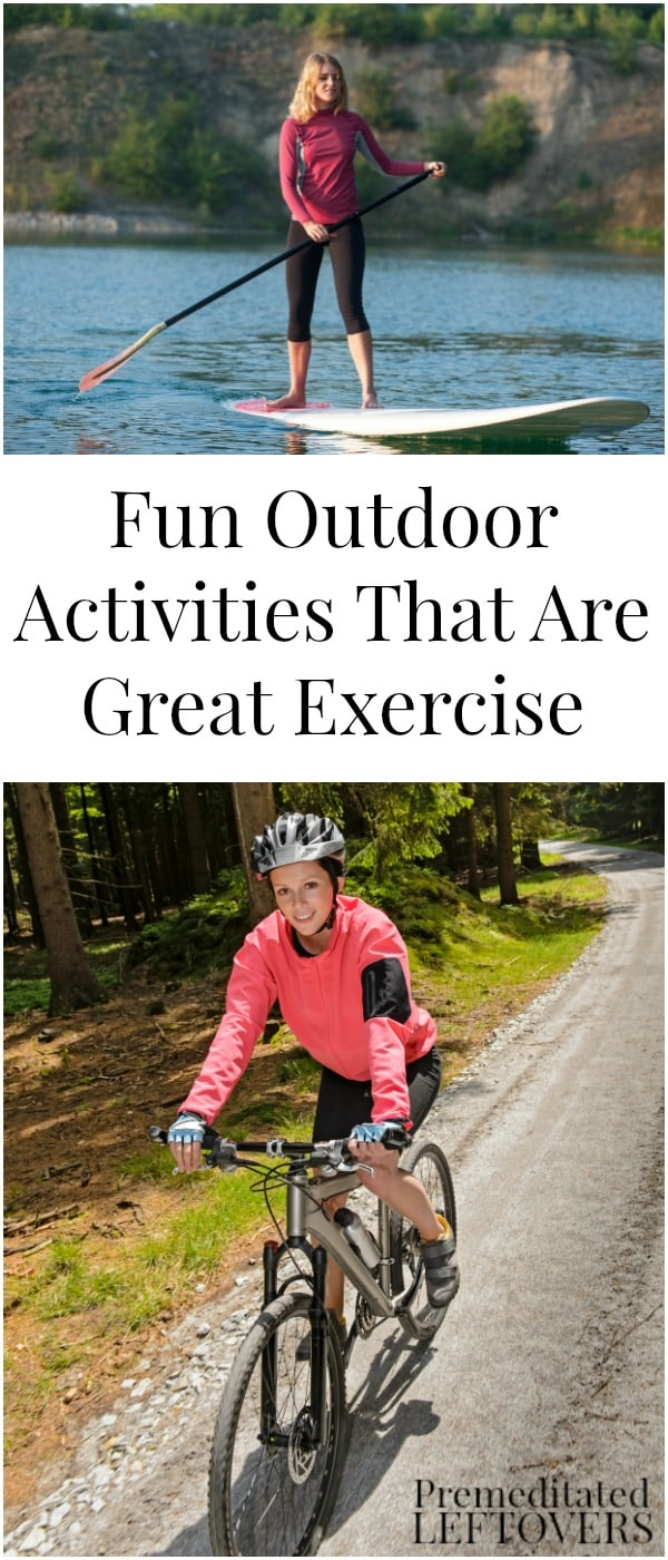 Fun Outdoor Living : Fun Outdoor Activities That Are Great Exercise