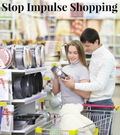 Impulse shopping can easily wreck your budget, but you can get it under control fast with these habit changing ways to stop impulse shopping.