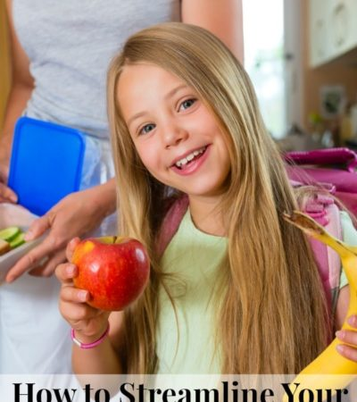 These tips on how to streamline your lunch packing routine can save you time and reduce stress on busy mornings this school year.