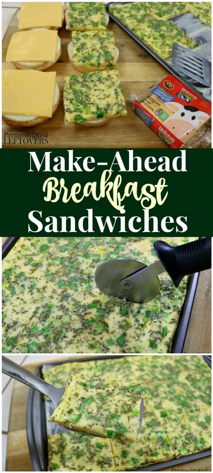 Make-Ahead Breakfast Sandwich Recipe