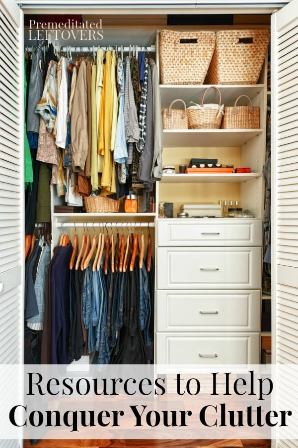 These resources to help conquer your clutter are a must for every busy mom and we have you covered with our best-hidden secret packed full of tools!