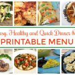 Healthy Dinner Meal Plan – A Month of Recipes