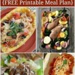 Healthy Dinner Menu Plan – 30 Easy Recipes
