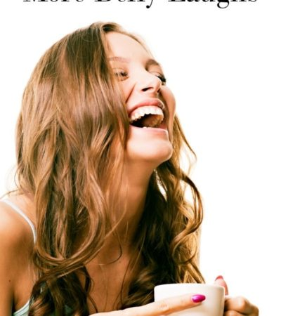 Did you know laughing is good for your health? Add some fun to your day and boost your health with these 5 simple ways to get more belly laughs!