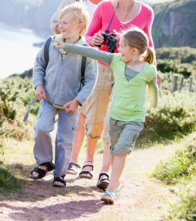 Get your family off the couch and away from screens with 5 ways to get your family active. You may find yourselves having more fun as a family too!