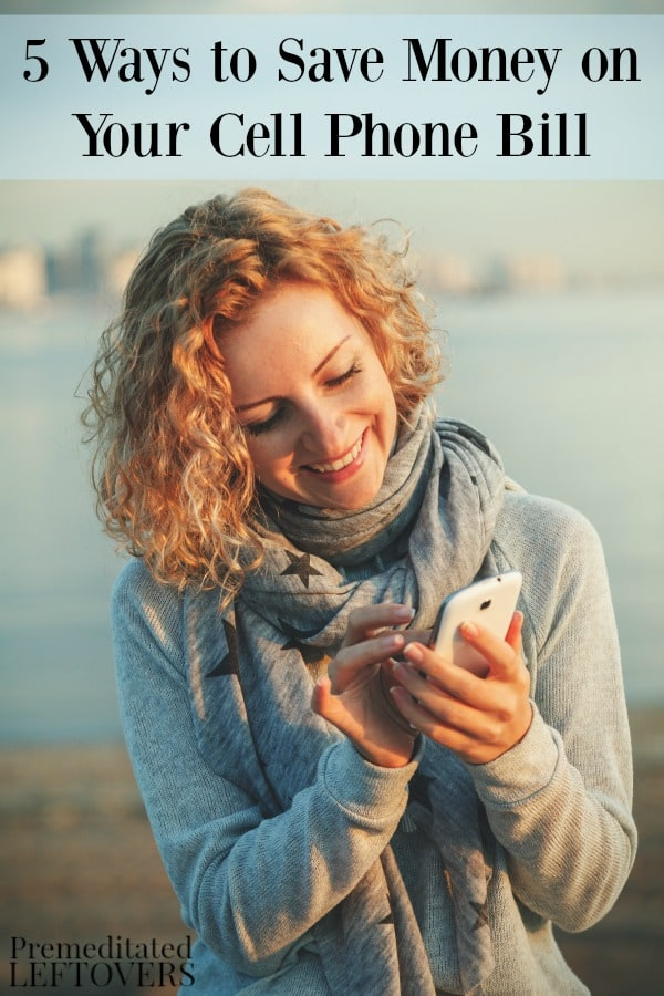 If your cell phone bill is higher than you'd like, one of these 5 ways to save money on your cell phone bill is sure to help you cut costs.
