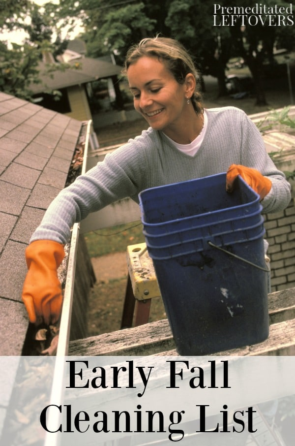 Early fall cleaning list for Fall yard clean up checklist
