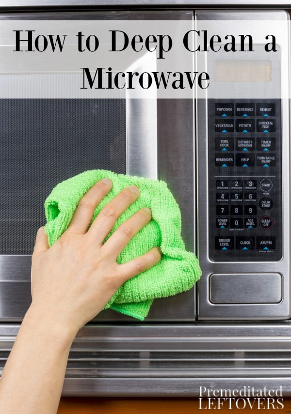 Is the mess in your microwave getting overwhelming? Try these tips on how to deep clean a microwave to get rid of those persistent stains and spills.
