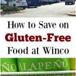 Winco has a lot of great, affordable gluten-free options. Check out these tips on how to save money on gluten-free food at Winco.