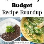 $20 Grocery Budget Recipe Roundup