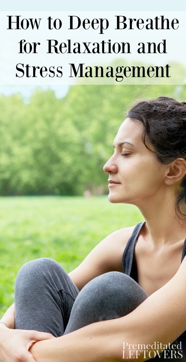 If you are looking for a way to reduce stress, deep breathing can be a great strategy. Here is how to deep breathe for relaxation and stress management.